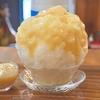 池袋の「HACHIKU(ハチク)」で桃みるく、完熟沖縄マンゴーとパッションフルーツ。