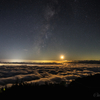 【天体撮影記 第69夜】 静岡県 富士宮 新五合目駐車場より雲海と天の川