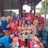 9月28日、岡津三嶋神社祭礼で演奏しました