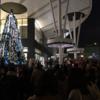 旭川駅前イオンのクリスマスツリーに明かりが灯った時のこと