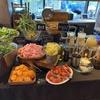 有機野菜てんこ盛りランチは恵比寿でここだけ!!ビュッフェスタイルで健康が思いのままに!【恵比寿「WE ARE THE FARM EBISU」ファーマーズグリーンカレー(1250円)】