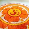 【インドでヨガリトリート】8〜10日目。色とりどりの花でマンダラ模様、リトリートの終わり