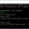 Windows 10 Home でPython 3系を導入し、機械学習に必要なパッケージをインストール