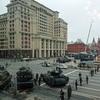 戦勝記念日(5/9)軍事パレードのリハーサル