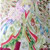 ランタナ平安チビ姫メイキングその3:一枚だけですが…:結局タオル枕