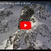 ドローンでたどる冬のイギリス最高峰ベンネヴィス山
