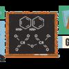 ジョン コーンフォースのロゴに描かれた彼の功績