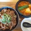 【岡山市北区】金金醤で名物カルビ丼とスンドゥブのランチ😀岡山イオンでお手軽に韓国料理が楽しめる🎵