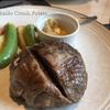 札幌・牛屋江戸八の牛肉100%ハンバーグランチ