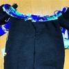 地球カーディガンのヨーク部分を編み始めました!編み込み模様は超楽しい〜(^∀^)♪