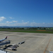 飛行機との距離が近く迫力満点!仙台空港屋上展望デッキ