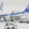 雪の空港ではデアイシングカー(除雪車)が大活躍【よくわかる防除氷の話】