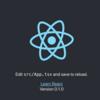 Create React Appで作成したアプリにpackage.jsonのバージョン情報を表示する