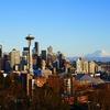 どんな広告にも出てくるシアトル定番の景色はKerry Park(ケリーパーク)から撮っている。
