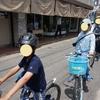 明石市大蔵海岸でサイクリング
