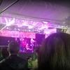 雨の新開地音楽祭、ラストの土岐さんのステージ開始直後に雨が止む神展開に感動したわ