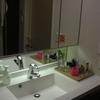 「無印良品で整理!2000円で洗面台をスッキリ整理させる方法」