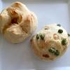 こねない冷蔵発酵生地とりんごの天然酵母でパンを焼きました