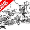 宝箱の中をずっと見つめているようなゲーム『Hidden Folks』/ Adriaan de Jongh