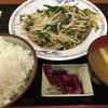 東名・中井PA下り レバニラ定食 830円