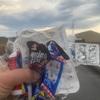 高知龍馬マラソンの後のゴミ…