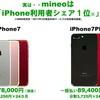 mineoが「iPhone 7/7 Plus」をWeb限定販売。初回は数百台。カラーや価格など