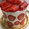 新阪急ホテルのBriliantのストロベリードットショートケーキが最高! 好みのケーキがいつも食べられます。