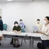 20日、ひだん連、避難の共同センターの県交渉に同席