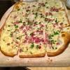 パリサク軽うま! ドイツ的薄ピザ、フラムクーヘンFlammkuchenを食べる