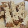 五穀米でホームベーカリー#3 もち麦食ぱんで作ったカリカリ(ダイシモチ使用)