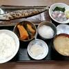 西川口の「あおき食堂」さんでさんまセット定食を食べました★