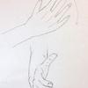 手を描く!開いた手【練習】