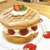 【お菓子・手作り】いちごのシフォンケーキみたいなケーキ【2017.4.13】