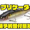 【イマカツ】鮎型ビッグベイト「レプリケーター」通販予約受付開始!
