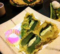 ★餅麩チーズサンドの天ぷら