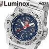 ルミノックス LUMINOX 腕時計 3254 メンズ ネイビーシールスチール NAVY SEAL STEEL クォーツ ネイビー シルバー