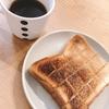 朝ご飯:甘じょっぱさが癖になる!カフェ風シュガーバターメープルトースト☆折られたお箸事件