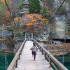 塔のへつり 奇岩の中を歩く。ここは日本のカッパドキア。会津下郷