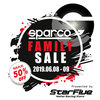 【6/8-9】Sparco/Sabelt ファミリーセール開催のお知らせ【関西 初開催】