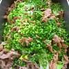 豚肉と白菜の豆豉炒め