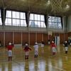 体育館で合同練習❗