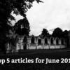 6月によく読まれた記事の紹介と「やりましたリスト」