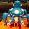 1/8サイズのタチコマに会える!FabCafe Tokyoで期間限定の「Cerevoカフェ」が開催中