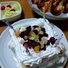 長男の誕生日パーティー、やっぱり手作りケーキが一番かな。