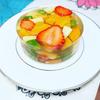 野菜と苺のテリーヌ。12月26日にクリスマスディナーとケーキ