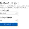 C#にてWebView2 で Web サイトを表示
