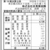 株式会社目黒雅叙園 第18期決算公告