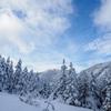 雪山シーズン最初は北八ヶ岳ロープウェイからの新雪ハイキングでカメラや靴のお試し