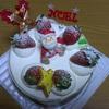 2012年のクリスマスケーキ