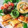 高野豆腐で生ハムチーズのモンティクリスト